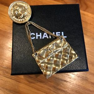 💎💎Rare Vintage Chanel Purse Brooch💎💎